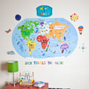 What a World Wall Decal