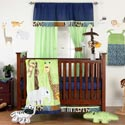 Jazzie Jungle Crib Bedding Set