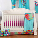 Terrific Tie Dye Crib Bedding Collection