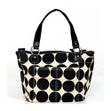 Sand Dot Tote Diaper Bag