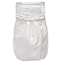 Pleated Ruffle Front Bubbled Carriage Bunting