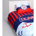 Personalized Anchors Bedding Set