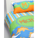 Personalized Dino Bedding Set
