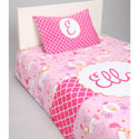 Personalized Princess Toddler Bedding Set