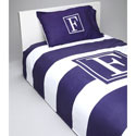 Bold Stripe Personalized Toddler Bedding Set