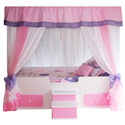 Butterfly Princess Canopy Bed