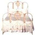 Personalized Iron Twin Bed