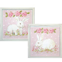 Hippity Hop Bunnies Wall Art Collection