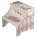 Rose Two Step Stool