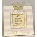 Princess Dots and Stripes Picture Frame
