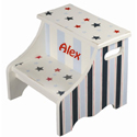 Stars and Stripes Step Stool