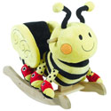 Personalized Buzzy Bee Rocker