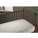 Cotton Fitted Crib Pad