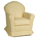 Royal Chenille Loose Cushion Glider