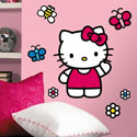World of Hello Kitty Giant Wall Decal