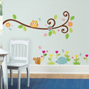 Scroll Tree Branch Wall Decal