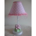 Baby Pink Flower Lamp