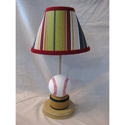 All Star Baseball Lamp