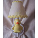 Rubber Duckie Sconce