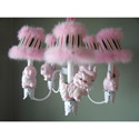 Prissy Little Kitty Chandelier