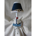 Nautical Sailboats Wall Sconce
