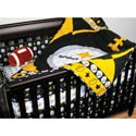 Pittsburgh Steelers Crib Bedding Set