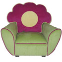 Child's Flower Storage Chair