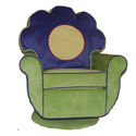 Flower Swivel Chair