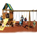 Alpine Swing Set - Project 612