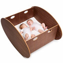 Scandinavian Twin Cradle