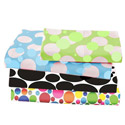 Multi Size Dots and Bubbles Moses Basket Sheet