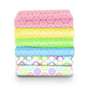 Moses Basket Pastel Bubbles Sheet