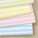 Moses Basket Pastel Stripes Sheet