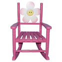 Friendly Flower Rocking Chair