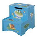 Froggy Storage Step Stool