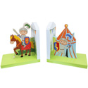 Knights and Dragons Bookends