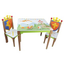 Knights and Dragons Table and Chair Set