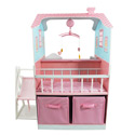 Pink Baby Nursery Doll House