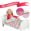 Doll Bed with Bedding- Combo Sets