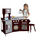 My Little Chef Deluxe Play Kitchen