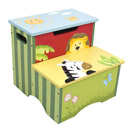 Sunny Safari Storage Step Stool