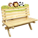Sunny Safari Outdoor Bench