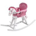 Convertible White Rocking Horse