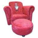 Cat in the Hat Chair with Ottoman