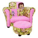 Dora �Exploring the Wild� Club Chair & Ottoman