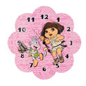 Dora �Exploring the Wild� Wall Clock