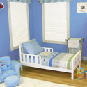 Dr. Seuss <i>One Fish Two Fish</i> Toddler Bedding Set