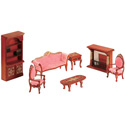 Doll Furniture Living Room Set