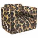 Animal Kid's Upholstered Rocker