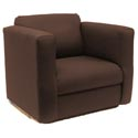 Children's Solid Upholstered Rocker